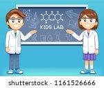 presentation of scientific... | Shutterstock .eps vector #1161526666