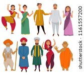 indian people traditional... | Shutterstock .eps vector #1161557200