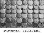 black and white pattern of... | Shutterstock . vector #1161601363