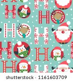 seamless christmas pattern with ...