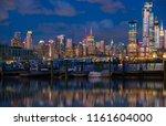 manhattan midtown skyline at...   Shutterstock . vector #1161604000