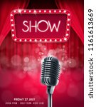 show banner illustration | Shutterstock .eps vector #1161613669