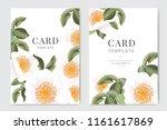 wedding invitation  floral... | Shutterstock .eps vector #1161617869