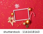 New Year\'s Decor And Frame Wit...