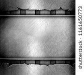 steel metal plate background ... | Shutterstock . vector #1161650773
