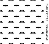 seamless pattern with bats.... | Shutterstock .eps vector #1161654043