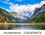 beautiful view of idyllic... | Shutterstock . vector #1161654676