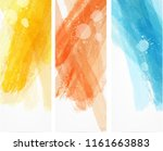 banner vertical templates with... | Shutterstock . vector #1161663883