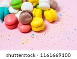 group of sweet colorful mini... | Shutterstock . vector #1161669100
