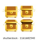 vector set of icons with... | Shutterstock .eps vector #1161682540