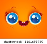 vector illustration of cute... | Shutterstock .eps vector #1161699760