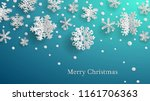 christmas illustration with... | Shutterstock .eps vector #1161706363