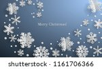 christmas illustration with... | Shutterstock .eps vector #1161706366