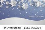 christmas illustration with... | Shutterstock .eps vector #1161706396