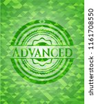 advanced green mosaic emblem | Shutterstock .eps vector #1161708550