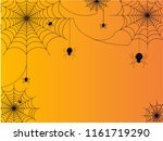black spiders vector for... | Shutterstock .eps vector #1161719290