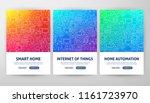 internet of things flyer...   Shutterstock .eps vector #1161723970
