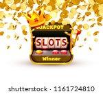 king slots 777 banner casino on ...   Shutterstock .eps vector #1161724810
