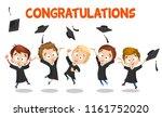 congratulation banner with...   Shutterstock .eps vector #1161752020