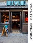 london  uk   august 19  2018 ... | Shutterstock . vector #1161769966
