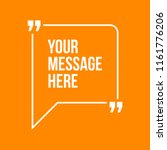 innovative vector quotation... | Shutterstock .eps vector #1161776206