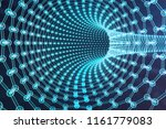 3d illustration nanotechnology  ... | Shutterstock . vector #1161779083