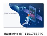isometric digital technology... | Shutterstock .eps vector #1161788740