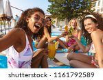 image of young happy emotional... | Shutterstock . vector #1161792589