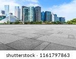 blue sky  empty marble floor... | Shutterstock . vector #1161797863