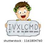 illustration of a kid boy... | Shutterstock .eps vector #1161804760