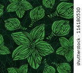 floral seamless pattern | Shutterstock .eps vector #116180530