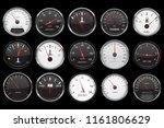 car dashboard gauges.... | Shutterstock .eps vector #1161806629