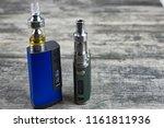 e   cigarette for vaping  ... | Shutterstock . vector #1161811936