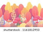 seamless line horizontal... | Shutterstock .eps vector #1161812953
