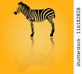 zebra | Shutterstock .eps vector #116182828