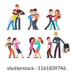 bullying kids. stop school... | Shutterstock .eps vector #1161839746