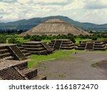 teotihuacan... | Shutterstock . vector #1161872470