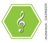 music violin clef sign. g clef. ... | Shutterstock .eps vector #1161903253