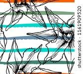 tropical  stripe  animal motif. ...   Shutterstock .eps vector #1161909520