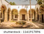 view of a courtyard of the...   Shutterstock . vector #1161917896