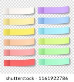 post note sticky stickers with... | Shutterstock . vector #1161922786