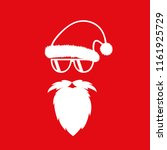 hipster santa claus with cool...   Shutterstock .eps vector #1161925729