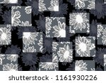 flower with abstract square... | Shutterstock .eps vector #1161930226