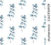 watercolor seamless pattern.... | Shutterstock . vector #1161934939