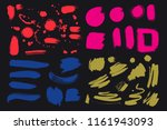 bright colorful vivid  cheerful ... | Shutterstock .eps vector #1161943093
