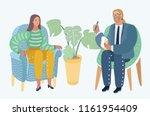 vector cartoon illustraron of... | Shutterstock .eps vector #1161954409