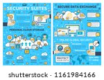 internet security and personal... | Shutterstock .eps vector #1161984166