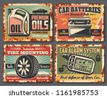 car service and auto garage... | Shutterstock .eps vector #1161985753
