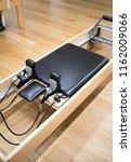 pilates machine fitness studio... | Shutterstock . vector #1162009066