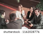 conference of entrepreneurs.... | Shutterstock . vector #1162028776